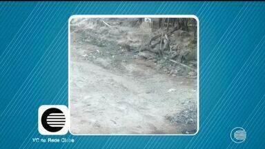 Moradores de Floriano reclamam da falta de pavimentação e saneamento - Moradores de Floriano reclamam da falta de pavimentação e saneamento