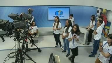 Estudantes de Fortaleza de Minas visitam EPTV pelo projeto EPTV na escola - Estudantes de Fortaleza de Minas visitam EPTV pelo projeto EPTV na escola