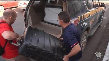 Mulher é presa com 80 quilos de maconha vinda de São Paulo - Mulher é presa com 80 qilos de maconha vinda de São Paulo