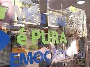 Lojistas em Montes Claros estão otimistas com vendas para o Dia dos Pais - Pesquisa do Sindcomércio aponta crescimento moderado para o ano de 2017; gasto dos consumidores deve ser entre R$ 30 e R$ 100.