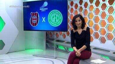 Globo Esporte RS - Bloco 3 - 11/08/2017 - Assista ao vídeo.