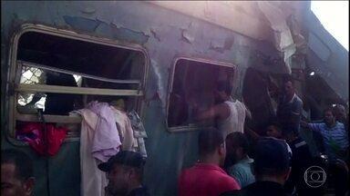 Acidente entre trens no Egito, mata 36 pessoas e deixa 100 feridas - O acidente foi no começo da tarde na cidade de Alexandria, Egito. Equipes de resgate estão no local em busca de sobreviventes.