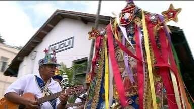 Muqui, no Sul do ES, recebe mais de 50 grupos no Encontro Nacional de Folia de Reis - Festa é realizada na cidade há quase 70 anos.