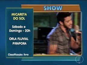 MG Cultura: Confira as dicas para o final de semana - Em Pirapora, Gustavo Lima se apresenta na Festa do Sol.