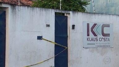 Polícia procura bandidos que roubaram 112 armas de empresa de segurança - Roubo aconteceu em Abreu e Lima, no Grande Recife.