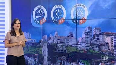 Previsão do tempo: final de semana em Salvador deve ser de sol e chuva - Veja mais informações na previsão.