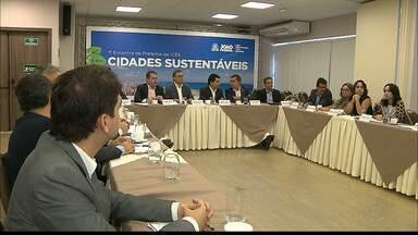 JPB2JP: Prefeitos reúnem-se para discutir o desenvolvimento sustentável das cidades - Troca de experiências.