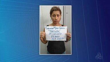Mãe é presa suspeita de torturar filha de 3 anos, no AM - Caso ocorreu em Parintins.
