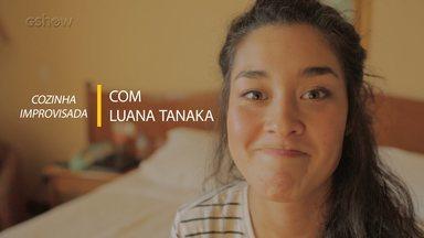 Luana Tanaka ensina receita de suco verde - Confira o vídeo