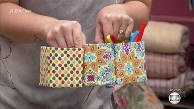 Aprenda a arrumar gavetas com caixas de leite e sucos - Priscila Saboia dá dica de com fazer