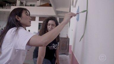 Danni Suzuki conhece a ONG Riso - O projeto entende as necessidades das comunidades e propõe soluções