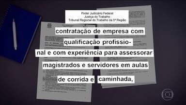 Polêmica na Bahia: TRT quer pagar empresa para dar aulas de corrida - Para presidente do TRT, não é um gasto, é um investimento em saúde. Contrato vai custar até R$ 196 mil por ano e pode ser prorrogado.