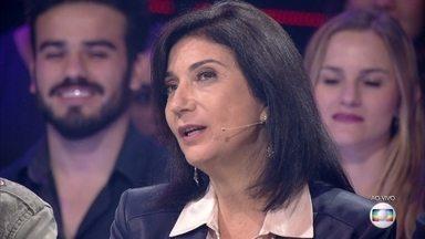 Zizi Possi elogia a apresentação Claudio Lins - Ator emociona com sua performance