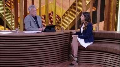 Tábata sonha governar o Brasil - Ela afirma que pretende contribuir para um mundo melhor