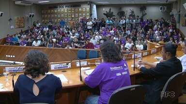 Comunidade participa de audiência pública sobre a Unila - Eles se reuniram depois de um projeto que previa a mudança da Unila em Universidade Federal do Oeste do Paraná.