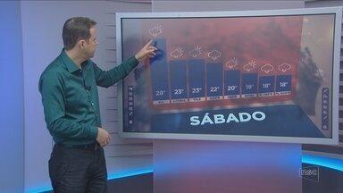 Confira a previsão do tempo para Santa Catarina com Leandro Puchalski - Confira a previsão do tempo para Santa Catarina com Leandro Puchalski
