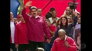 Ditadura na Venezuela derruba o Congresso - O ditador Nicolás Maduro substituiu o Congresso venezuelano por uma Assembleia Constituinte formada exclusivamente por chavistas.