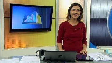 Confira os destaques do Jornal Anhanguera 1ª Edição deste sábado (19) - A falta de água em bairros da Grande Goiânia está entre as reportagens.