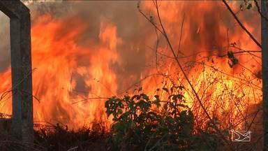 Corpo de Bombeiros registra aumento de incêndios em Caxias - Corpo de Bombeiros registra um aumento na ocorrência de incêndios em Caxias, inclusive na área urbana da cidade.