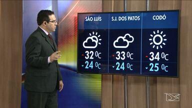Veja a previsão do tempo neste sábado (19) no MA - Confira como deve ficar o tempo e a temperatura em São Luís e no Maranhão.