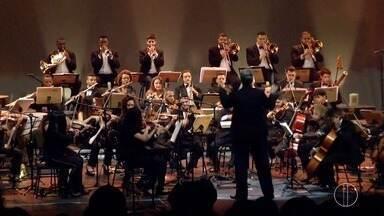 Projeto 'Orquestrando a Vida' participará do Mesão Esperança nos estúdios Globo - Assista a seguir.