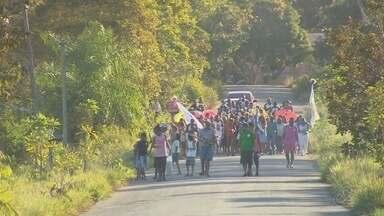 Procissão e festejos marcaram dia de São Joaquim no Curiaú - Programação iniciou no dia 9 e seguiu até o dia 18 de agosto.