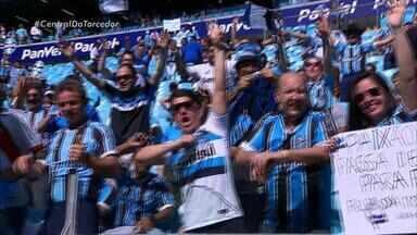 Grêmio enfrenta o Atlético Paranaense neste domingo (20) - A partida acontece as 11h, na Arena, em Porto Alegre.