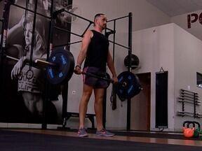 Homem muda rotina e perde 20 quilos com prática de atividade física - Alimentação regrada também contribuiu para o emagrecimento.