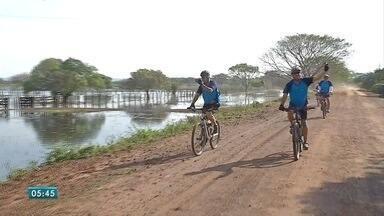 Esporte: fim de semana de bicicleta, futsal e futebol - Teve esporte para todos os gostos no fim de semana. Desafio de bicicleta em Corumbá, Copa da Juventude em várias cidades de Mato Grosso do Sul e Campeonato Brasileiro em outros estados.