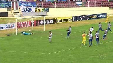 Após derrota contra Confiança, CSA perde liderança do Grupo A da Série C - Partida aconteceu em Sergipe.