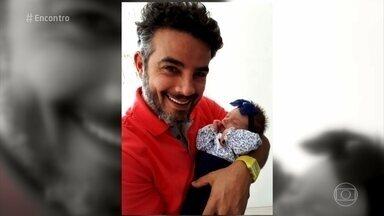 Anderson di Rizzi fala sobre a filha Helena - Ator se mostra um paizão