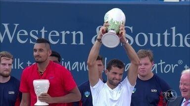 Dimitrov vence Kyrgios e conquista o primeiro Masters 1000 da carreira - Dimitrov vence Kyrgios e conquista o primeiro Masters 1000 da carreira