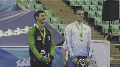 Na Universíade, em Taiwan, Brasil leva três medalhas já no segundo dia de competição - Brasileiros levaram dois bronzes e um ouro nas olimpíadas universitárias.