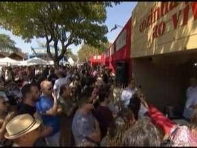 Festival de Cultura e Gastronomia é realizado em Tiradentes - Cidade histórica recebe milhares de pessoas.