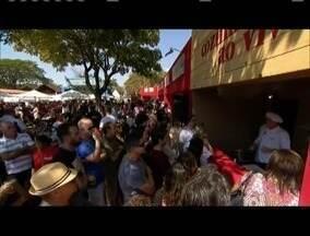 Festival de Gastronomia em Tiradentes atrai milhares de turistas - Evento completa neste ano a sua 20ª edição.