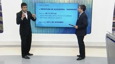 Confira opções de concursos disponíveis no Brasil - Flávio Guimarães dá dicas para o público.