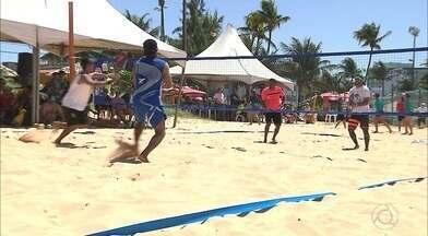 Etapa de abertura do Circuito Paraibano de Tênis de Areia contou com mais de 100 atletas - Etapa foi disputada no fim de semana e trouxe à praia de Tambaú alguns dos melhores jogadores do Nordeste
