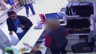 Está preso o homem que atirou em um açougue com vários clientes em Maringá - Ele confessou ter atirado, mas afirmou que não teve a intenção de matar