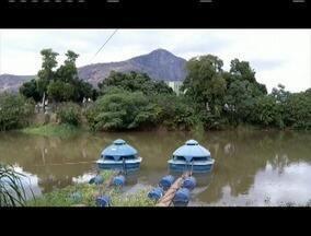 Nova baixa no volume do Rio Doce causa preocupação para o abastecimento em Valadares - SAAE pede que moradores colaborem e economizem água.