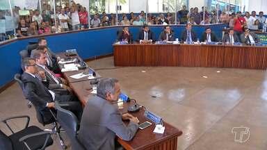 Câmara aprova processo de cassação contra o vereador Reginaldo Campos - Reginaldo Campos (PSC) é investigado por chefiar esquema de corrupção na Câmara de Santarém. Ele está preso preventivamente desde o dia 7 de agosto.