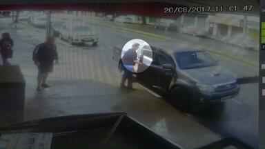 Está preso o homem que atirou contra um açougue lotado em Maringá - Uma pessoa morreu e outra ficou ferida.