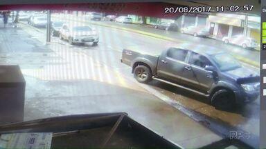 O Paraná TV entrevista o homem ferido a bala em um açougue em Maringá - O corpo do outro homem atingido pelos disparos foi sepultado hoje. O advogado do atirador disse que ele não tinha a intenção de matar.