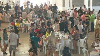 Dia do comerciário é comemorado com jogo de futebol em Campina Grande - Teve festa também em casa do show.