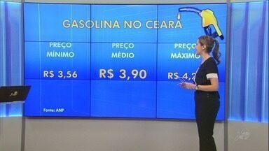 Preço da gasolina volta a subir pela terceira semana seguida no Ceará - O litro no estado está custando, em média, R$ 3,90