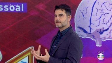 Dr. Fernando Gomes Pinto fala sobre os diferentes tipos de inteligência - Médico diz que existem 10 tipos de inteligência e destaca a inteligência emocional. Ele promove testes para os convidados e a plateia