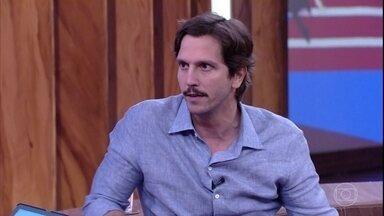 Vladimir Brichta fala sobre novo trabalho, o filme 'Bingo: O Rei das Manhãs' - O ator comenta a experiência de viver um palhaço nos cinemas e o viral com Wagner Moura