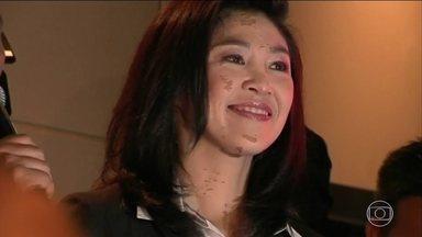 Ex-primeira-ministra da Tailândia falta a julgamento e vira foragida - Yingluck Shinawatra governou a Tailândia entre 2011 e 2014, quando foi deposta por um golpe militar. Ela é acusada de ter se beneficiado de um esquema de subsídios a produtores de arroz que deixou um prejuízo de US$8 bilhões.