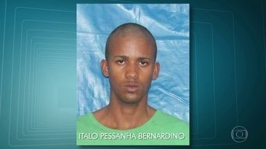 Suspeito de matar o CaboThiago tinha sido libertado da prisão pela Justiça no mês passado - Hoje foi enterrado outro PM, o subtenente Mabel Sampaio, em São Gonçalo