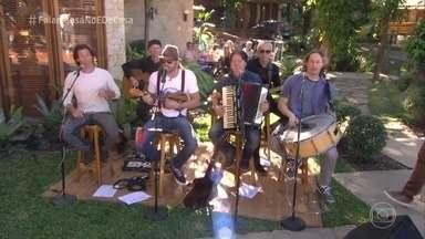 Falamansa canta 'Rindo à Toa' - Grupo agita a manhã de sábado