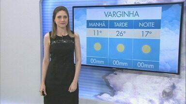 Confira a previsão do tempo para o fim de semana no Sul de Minas - Confira a previsão do tempo para o fim de semana no Sul de Minas